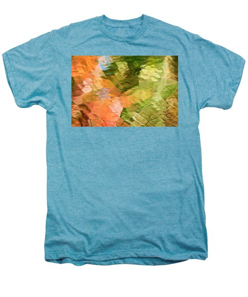 Cinnamon And Spice Mosaic Abstract Men's Premium T-Shirt