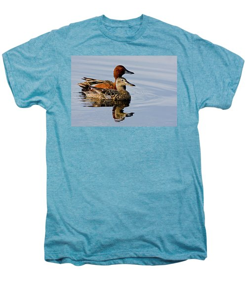 Cinnamon Teal Pair Men's Premium T-Shirt