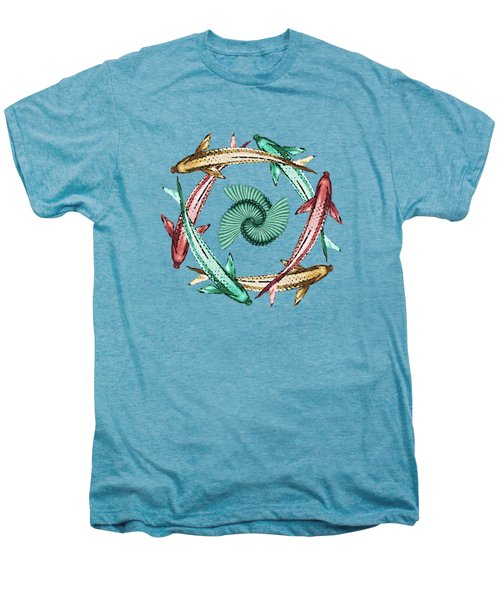 Circle Men's Premium T-Shirt by Deborah Smith