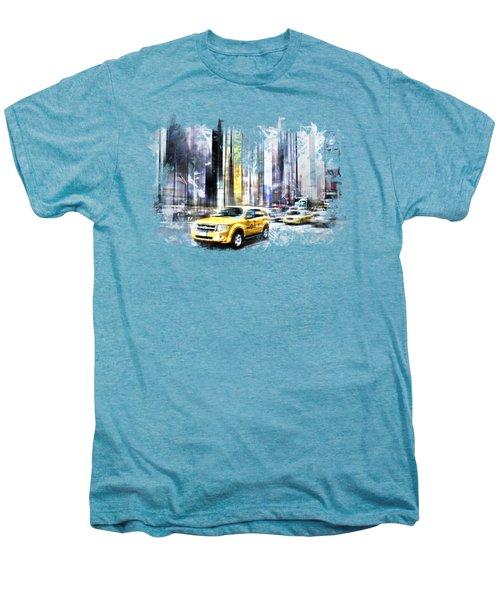 City-art Times Square II Men's Premium T-Shirt