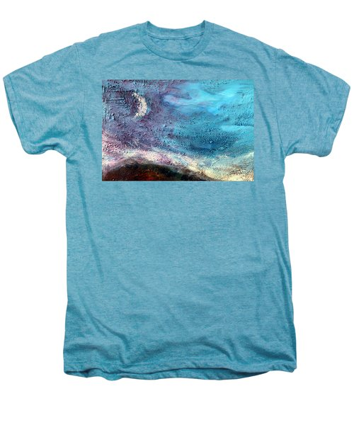 Clay Moon Men's Premium T-Shirt by Winsome Gunning