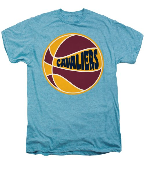 Cleveland Cavaliers Retro Shirt Men's Premium T-Shirt by Joe Hamilton