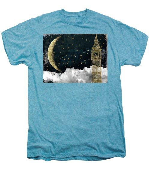 Cloud Cities London Men's Premium T-Shirt by Mindy Sommers