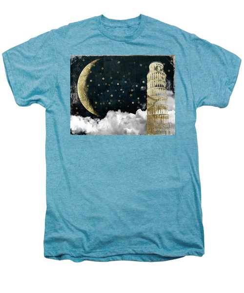 Cloud Cities Pisa Italy Men's Premium T-Shirt by Mindy Sommers