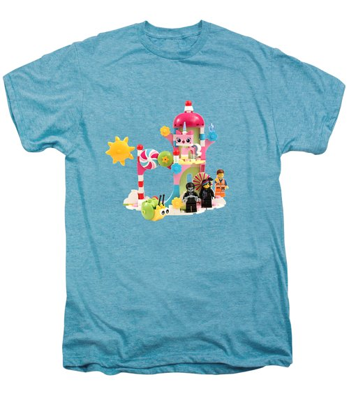 Cloud Cuckoo Land Men's Premium T-Shirt by Snappy Brick Photos