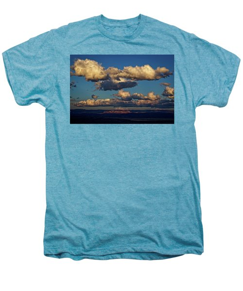 Clouds And Red Rocks Hdr Men's Premium T-Shirt