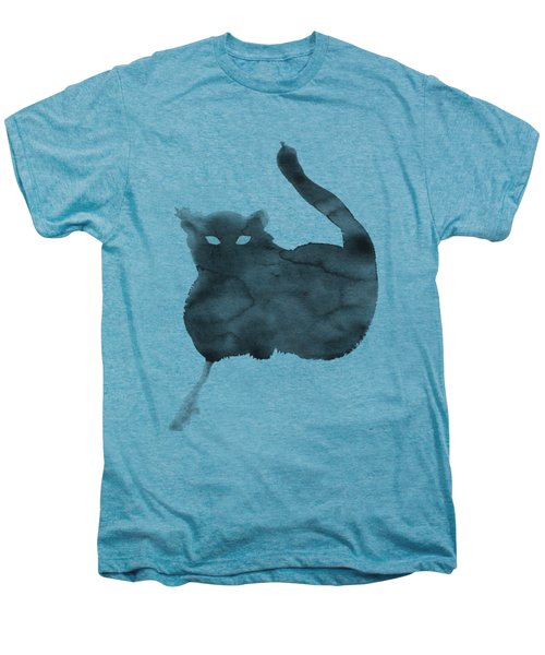 Cloudy Cat Men's Premium T-Shirt by Marc Philippe Joly