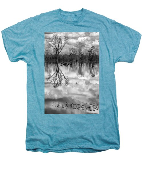 Cloudy Reflection Men's Premium T-Shirt