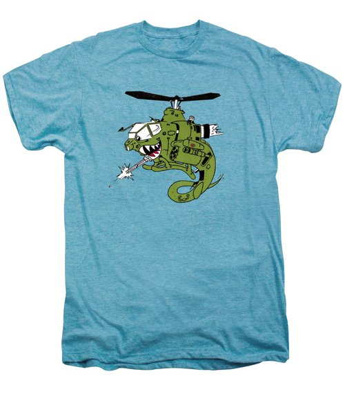 Cobra Men's Premium T-Shirt by Julio Lopez