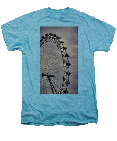 Coca Cola London Eye Men's Premium T-Shirt by Martin Newman
