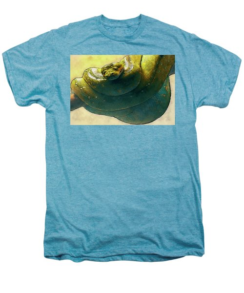 Coiled Men's Premium T-Shirt by Jack Zulli