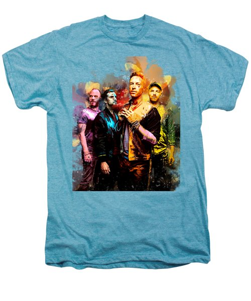 Coldplay Men's Premium T-Shirt by Rinaldo Ananta