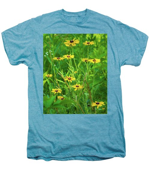 Men's Premium T-Shirt featuring the photograph Collection In The Clearing by Bill Pevlor