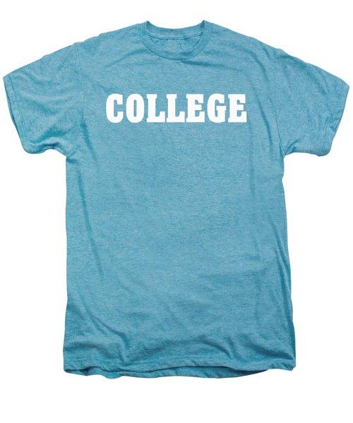 College Tee Men's Premium T-Shirt