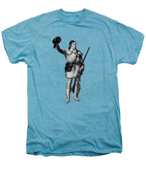 Colonel Davy Crockett Men's Premium T-Shirt