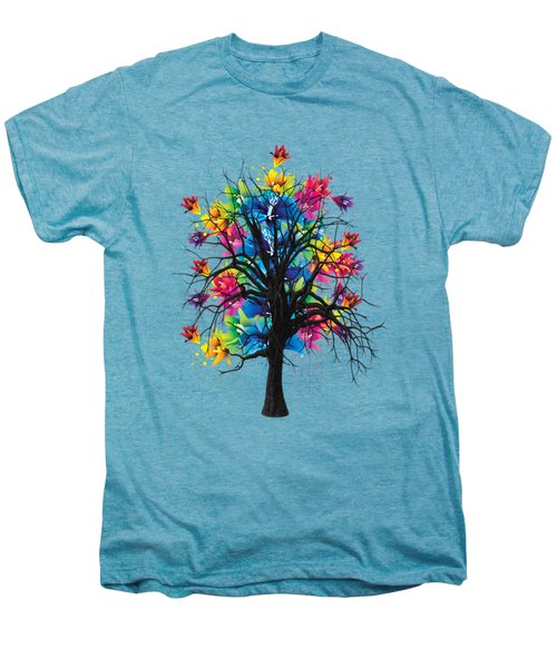 Color Tree Collection Men's Premium T-Shirt by Marvin Blaine