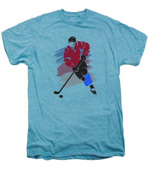 Colorado Avalanche Player Shirt Men's Premium T-Shirt by Joe Hamilton