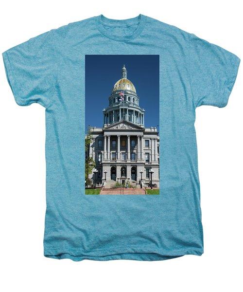 Colorado State Capitol Men's Premium T-Shirt