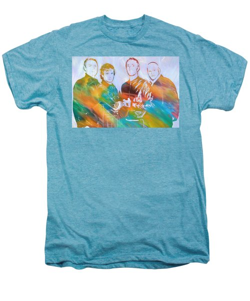 Colorful Coldplay Men's Premium T-Shirt by Dan Sproul