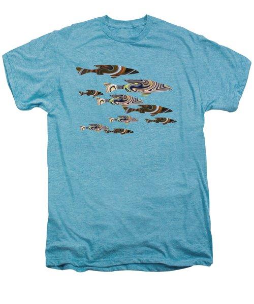 Colorful Fish Men's Premium T-Shirt