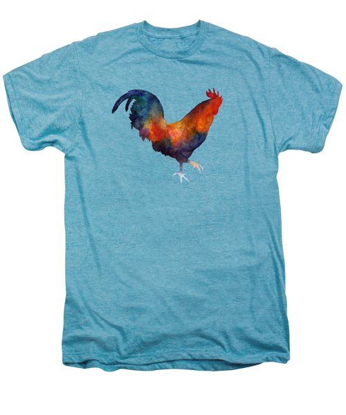 Colorful Rooster Men's Premium T-Shirt
