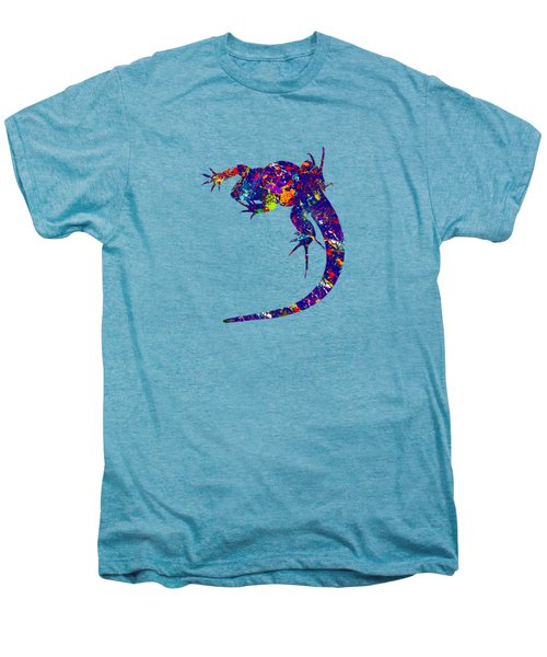 Colourful Lizard -2- Men's Premium T-Shirt