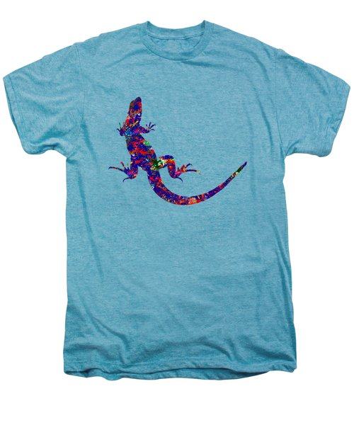 Colourful Lizard Men's Premium T-Shirt by Bamalam  Photography