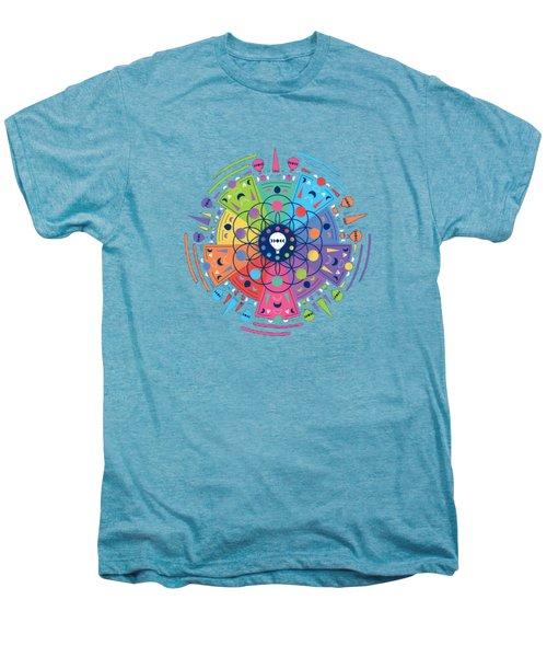 Colourful Of Stars Men's Premium T-Shirt