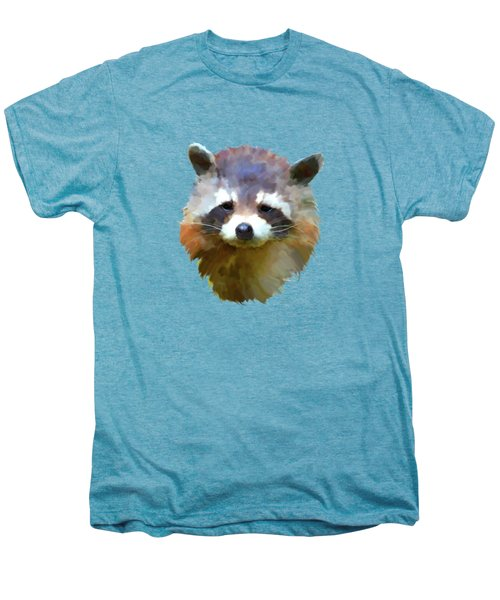 Colourful Raccoon Men's Premium T-Shirt by Bamalam  Photography