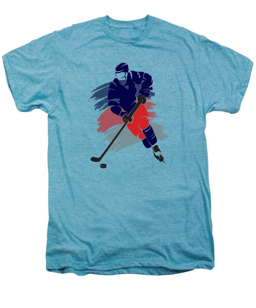 Colubus Blue Jackets Player Shirt Men's Premium T-Shirt by Joe Hamilton