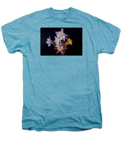 Men's Premium T-Shirt featuring the photograph Columbine Medley by Gary Lengyel