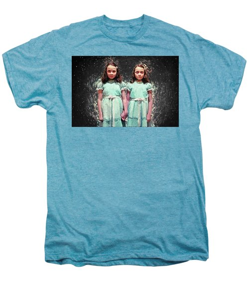Come Play With Us - The Shining Twins Men's Premium T-Shirt