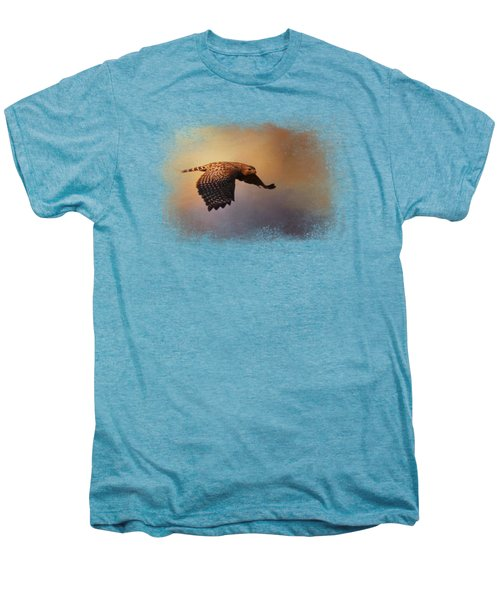Coming In For The Evening Men's Premium T-Shirt by Jai Johnson