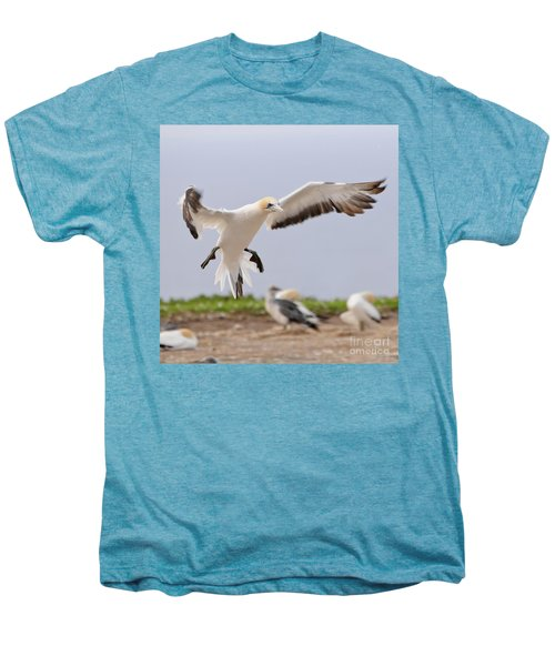 Men's Premium T-Shirt featuring the photograph Coming In To Land by Werner Padarin