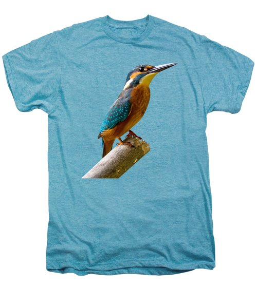 Common Kingfisher Alcedo Atthis Men's Premium T-Shirt