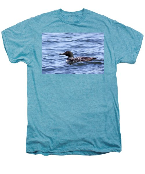 Common Loon Men's Premium T-Shirt by Teresa Zieba