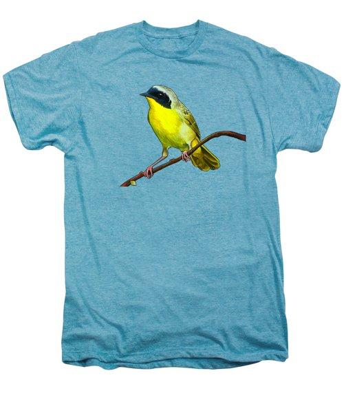 Common Yellowthroat Men's Premium T-Shirt by Rory Viale