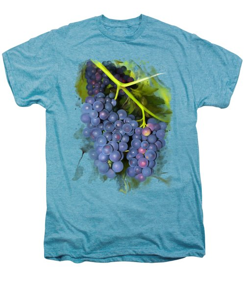 Concord Grape Men's Premium T-Shirt by Ivana Westin