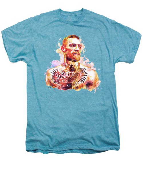 Conor Mcgregor Men's Premium T-Shirt by Marian Voicu