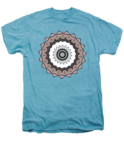 Construction Mandala By Kaye Menner Men's Premium T-Shirt by Kaye Menner