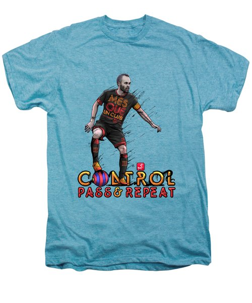 Control Pass And Repeat Men's Premium T-Shirt by Akyanyme