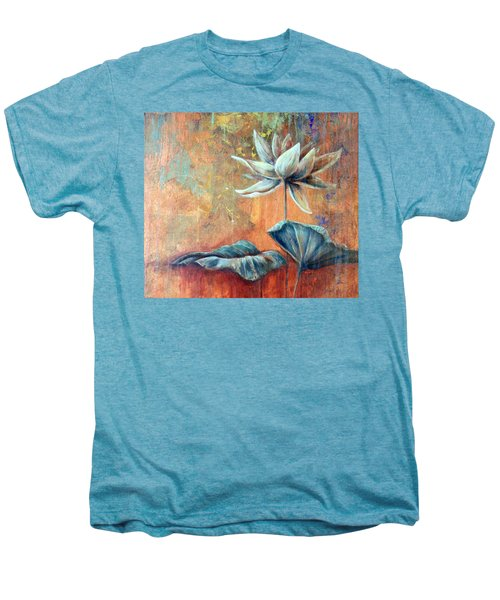 Copper Lotus Men's Premium T-Shirt