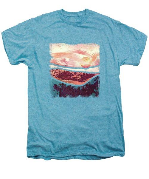 Coral Sky Men's Premium T-Shirt