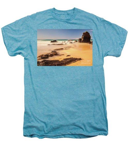 Corunna Point Beach Men's Premium T-Shirt by Werner Padarin