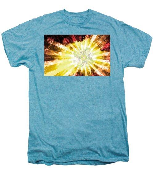 Cosmic Solar Flower Fern Flare 2 Men's Premium T-Shirt