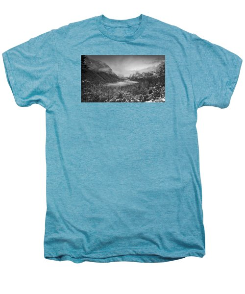 Cotton Candy Blankets Yosemite Men's Premium T-Shirt by Lora Lee Chapman