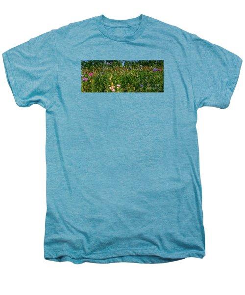 Country Wildflowers IIi Men's Premium T-Shirt