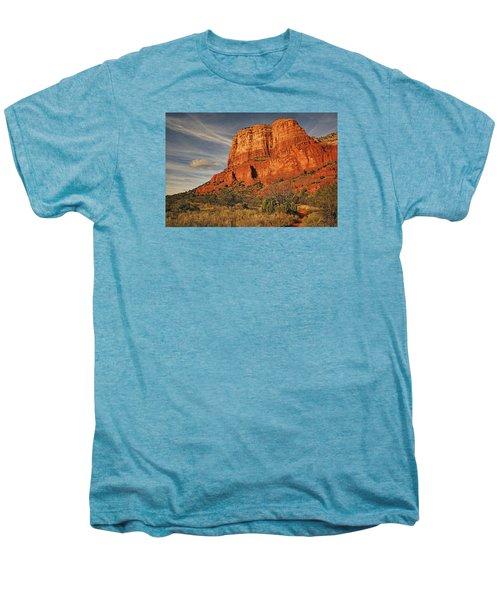 Courthouse Butte Txt Men's Premium T-Shirt