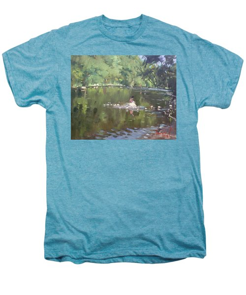 Credit River By Norval On Men's Premium T-Shirt