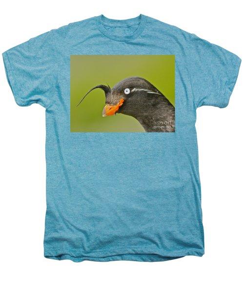 Crested Auklet Men's Premium T-Shirt